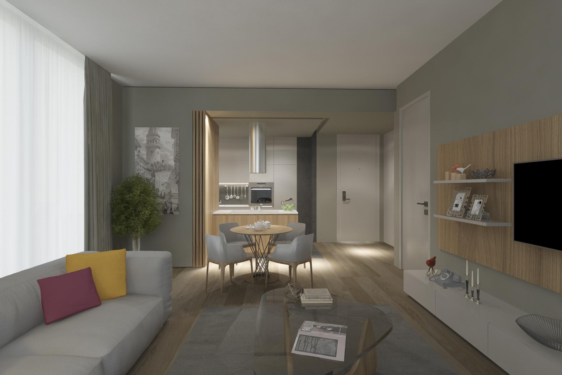 Трёхкомнатные квартиры в готовом проекте Стамбул - Фото 16