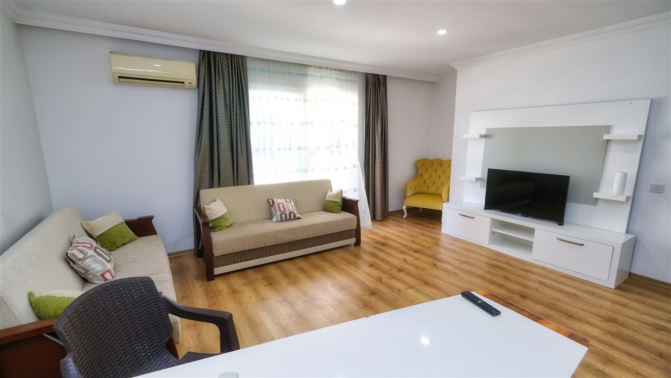 Двухкомнатная квартира с мебелью в элитном комплексе района Коньяалты - Фото 30