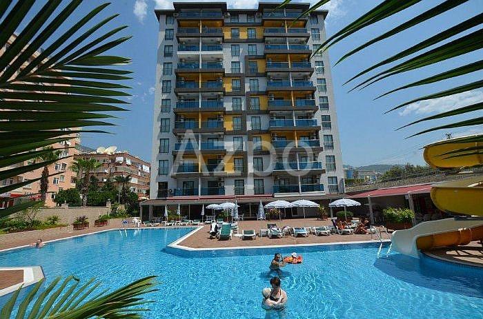 Квартира-дуплекс в благоустроенном комплексе в центре Аланьи - Фото 2