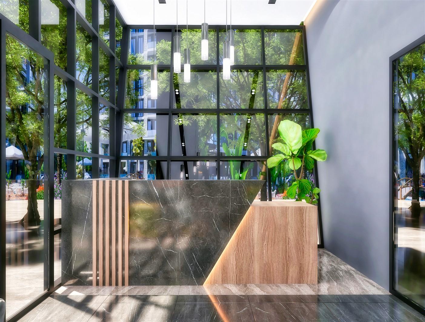 Современные квартиры в элитном комплексе Антальи - Фото 17