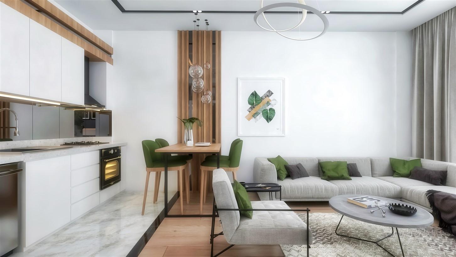 Современные квартиры в элитном комплексе Антальи - Фото 36
