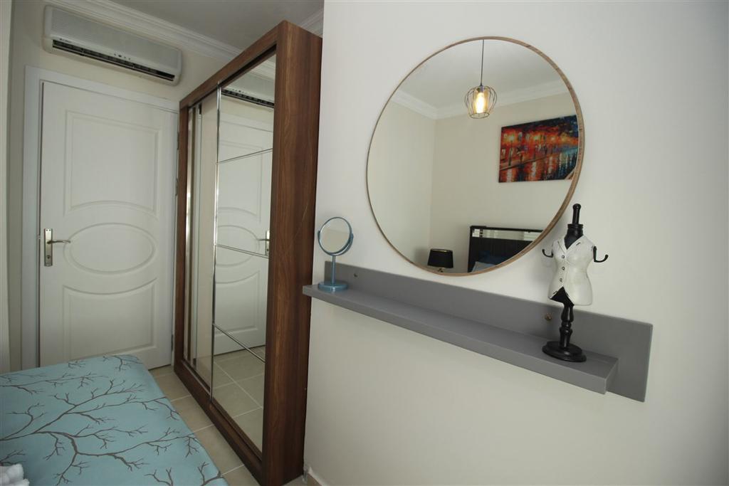 Двухкомнатная квартира с мебелью в Махмутларе - Фото 13
