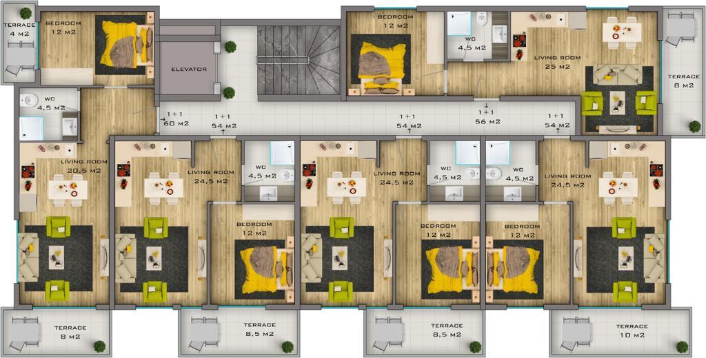 Комфортабельные квартиры в новом комплексе - Фото 15