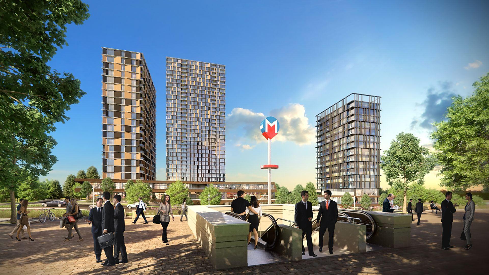 Трёхкомнатные квартиры в готовом проекте Стамбул - Фото 4