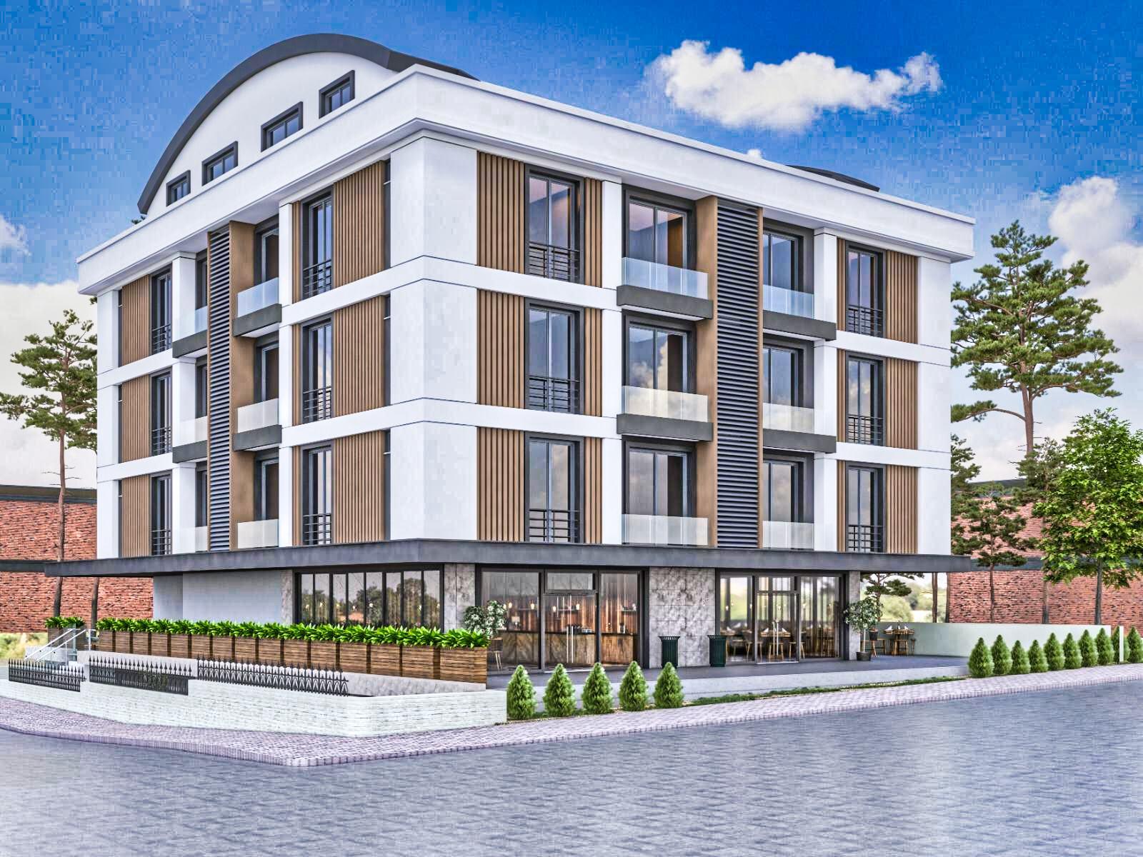Отель на 40 комнат на продажу в районе Коньяалты Анталия - Фото 1