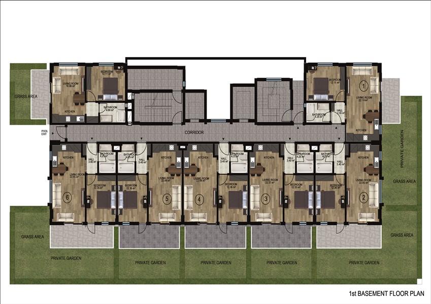 Квартиры в районе Демирташ по ценам застройщика - Фото 20
