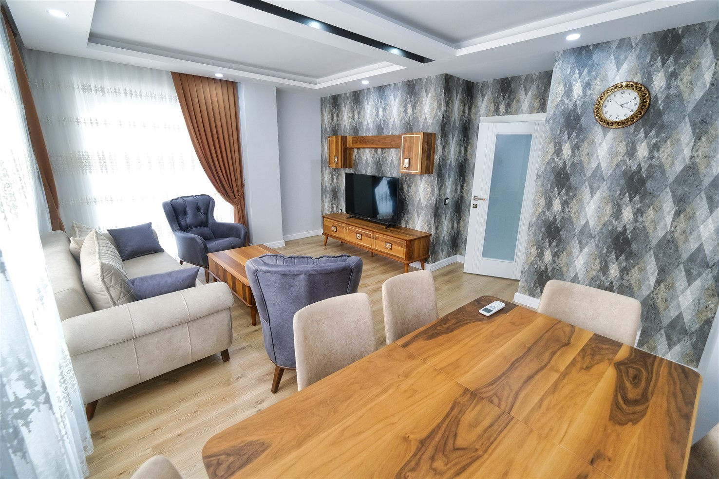 Трёхкомнатная квартира в центре Антальи - Фото 23