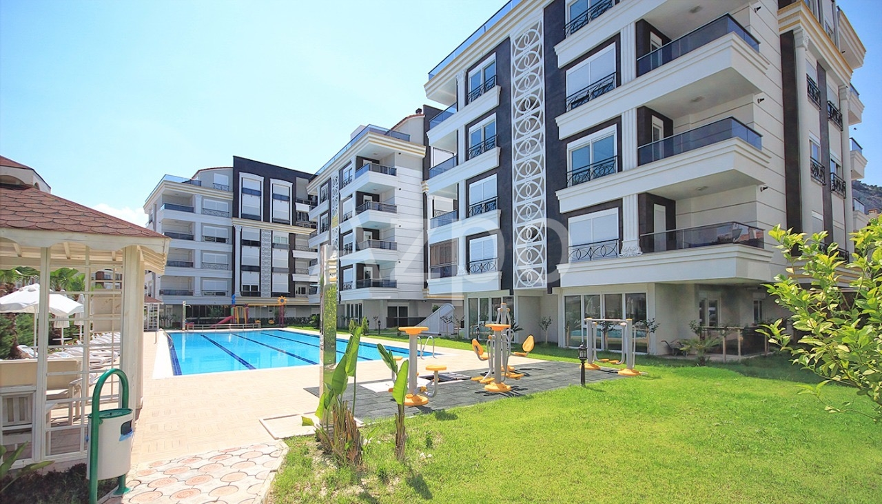Квартиры 1+1 и 2+1 в комплексе в районе Хурма Коньяалты Анталия - Фото 18
