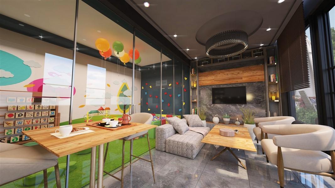 Современные квартиры и пентхаусы в посёлке Авсаллар - Фото 14
