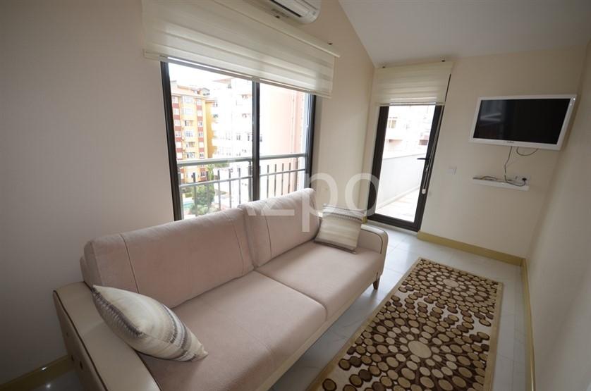 Квартира-дуплекс в благоустроенном комплексе в центре Аланьи - Фото 25