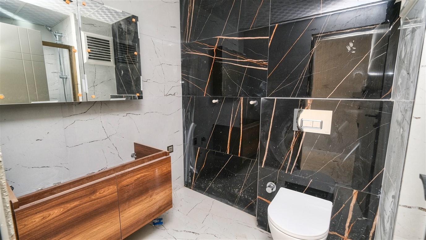 Новая двухкомнатная квартира в районе Коньяалты - Фото 19