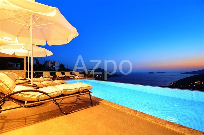Элитная вилла 5+1 с видом на Средиземное море - Фото 15