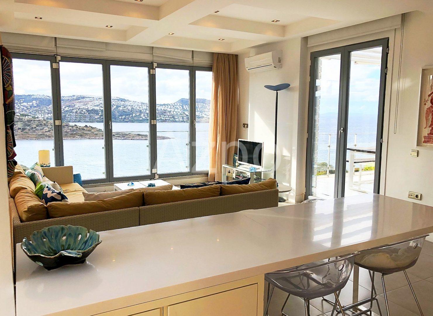 Квартира с панорамным видом на море в Бодруме - Фото 5