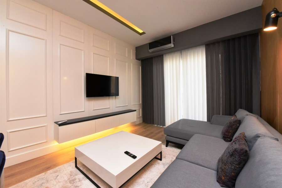 Двухкомнатная квартира с мебелью в районе пляжа Клеопатры - Фото 12