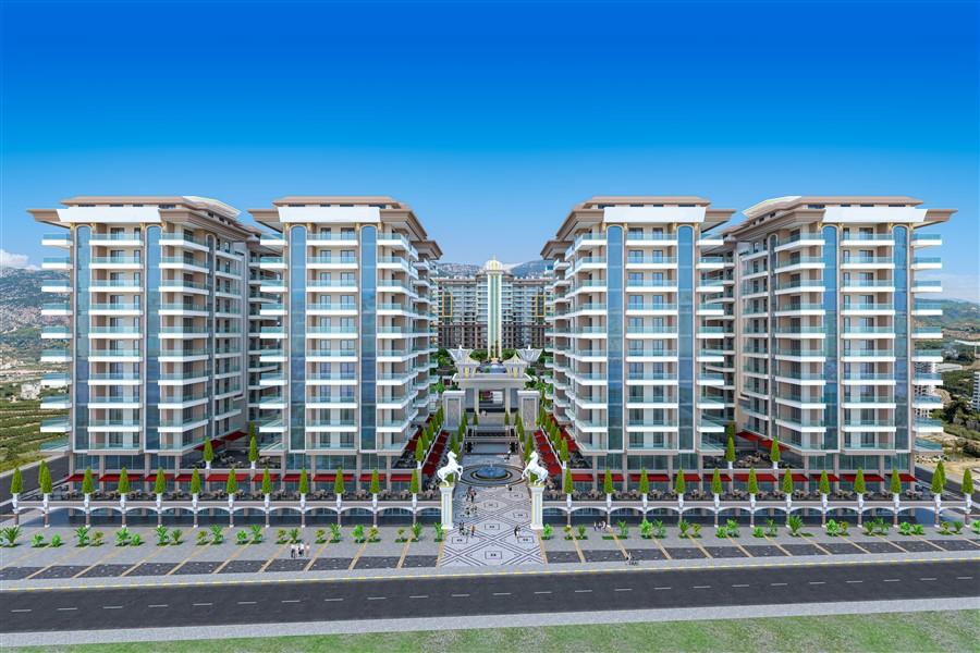 Двухкомнатная квартира в новом комплексе в районе Махмутлар - Фото 1