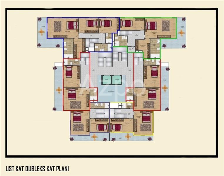 Новый жилой комплекс в Махмутларе - Фото 17