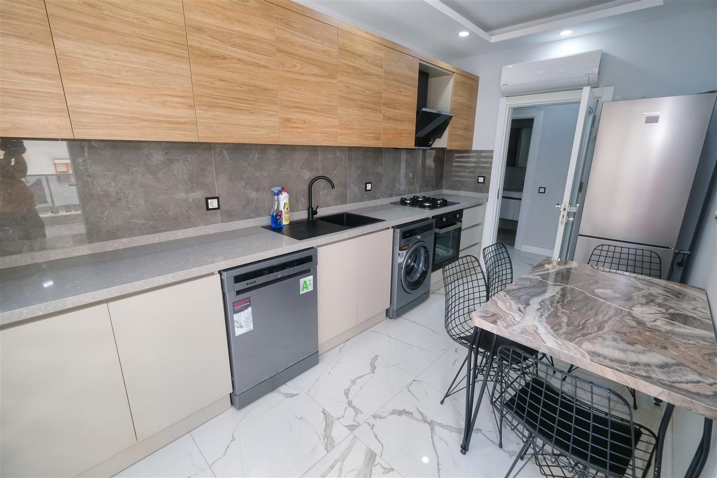 Трёхкомнатная квартира в центре Антальи - Фото 26