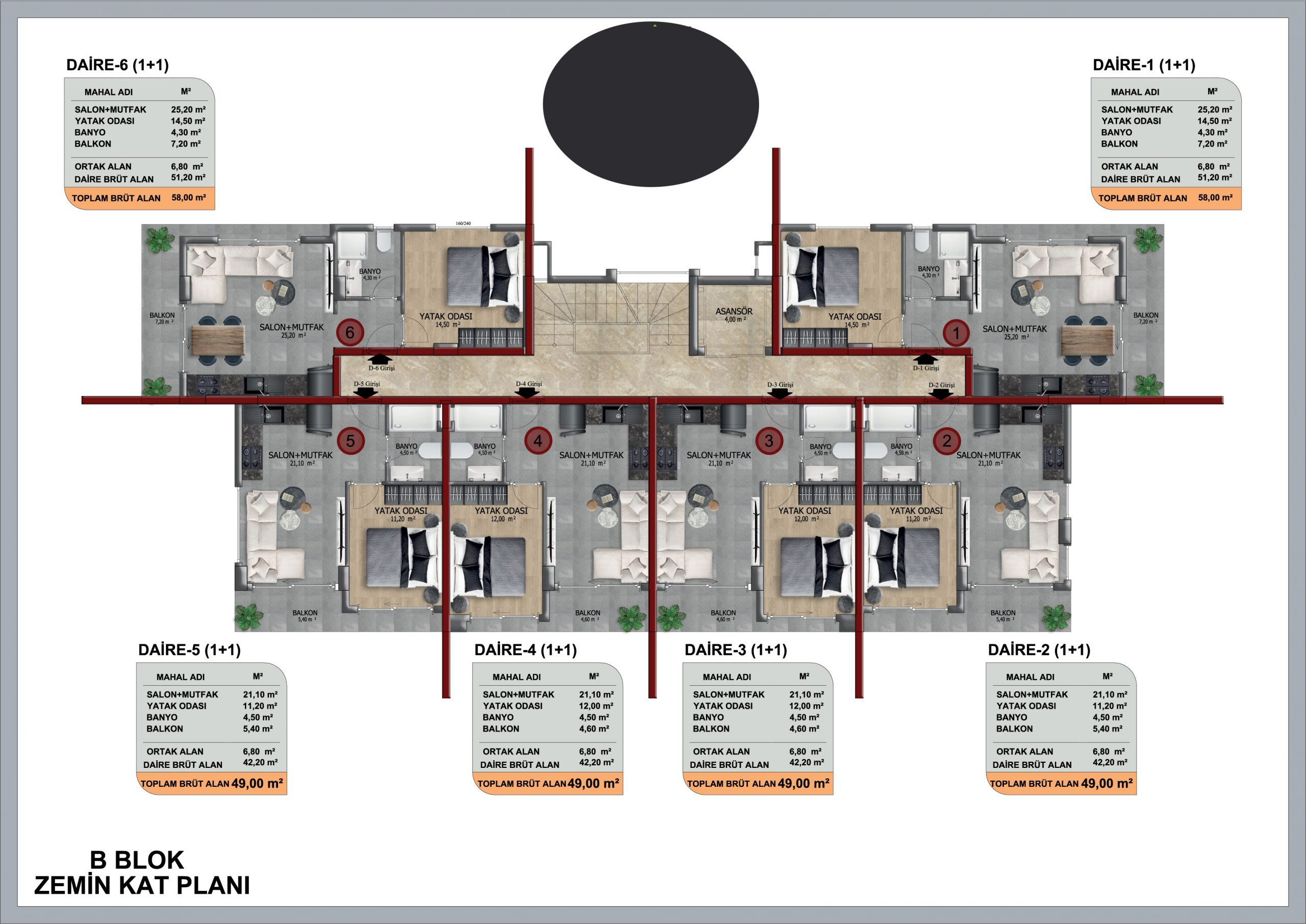 Квартиры и пентхаусы в строящемся жилом комплексе - Фото 8