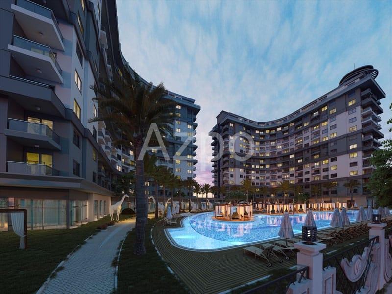 Новый строящийся проект люкс уровня в Махмутларе - Фото 6