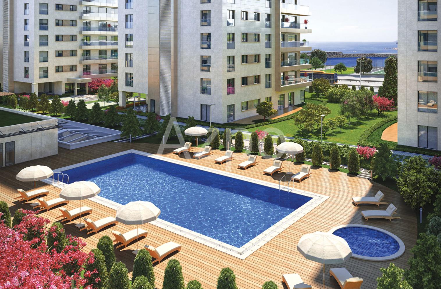 Квартиры в новом жилом комплексе у берега Мраморного моря - Фото 10