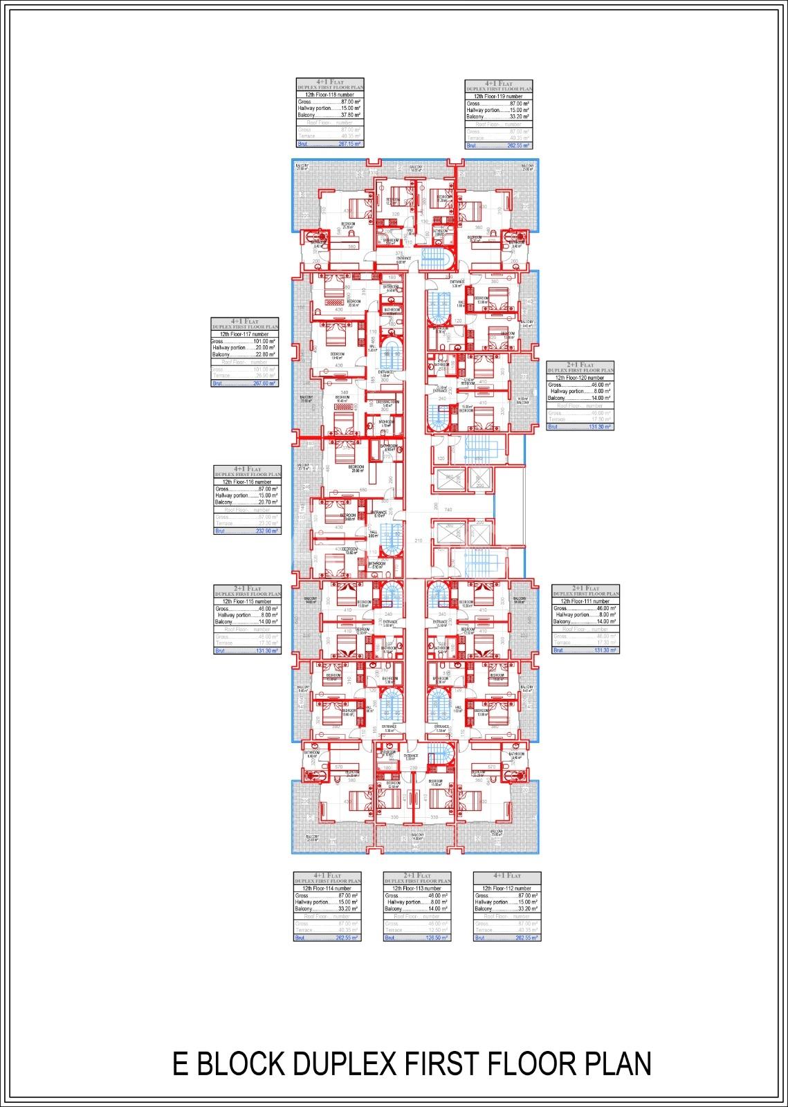 Квартиры всех типов планировок в Махмутларе - Фото 17