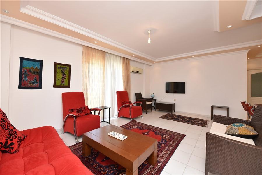 Трёхкомнатная квартира с мебелью в районе Джикджилли - Фото 5