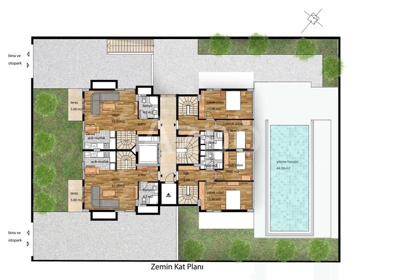 Новый комплекс в районе Коньяалты - Фото 7