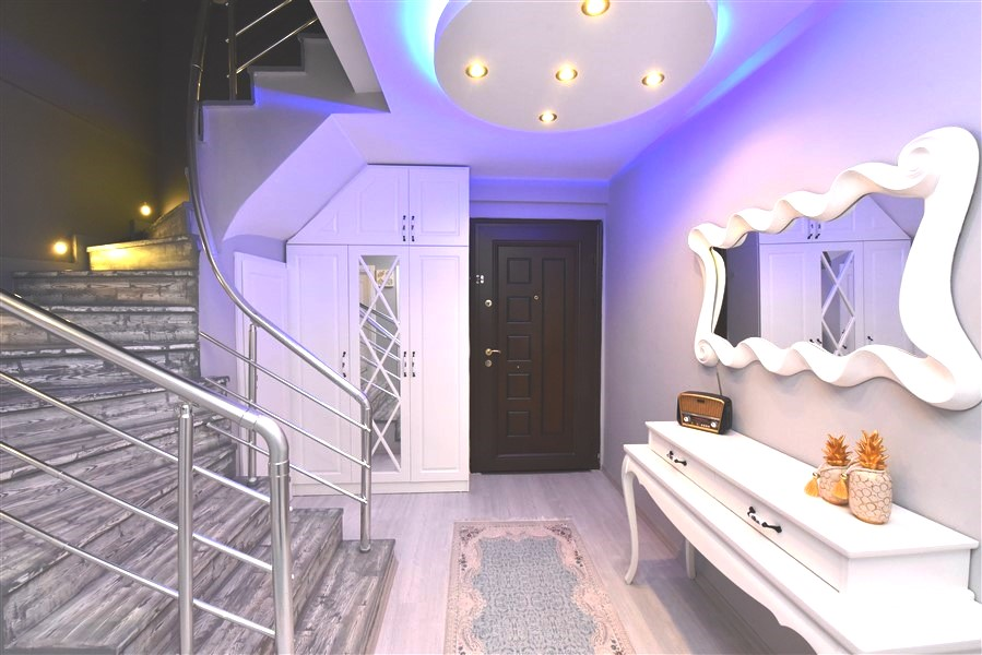 Просторный пентхаус 3+1 с мебелью в Джикджилли - Фото 12