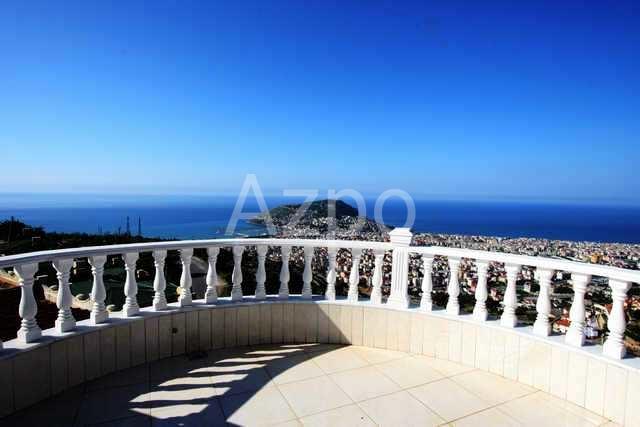 Просторная вилла с панорамным видом в Аланье - Фото 9