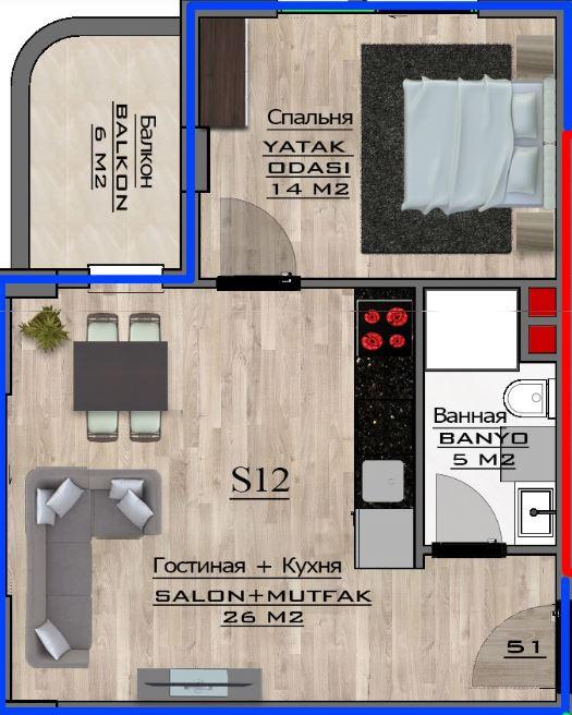 Новые квартиры от застройщика - Фото 61