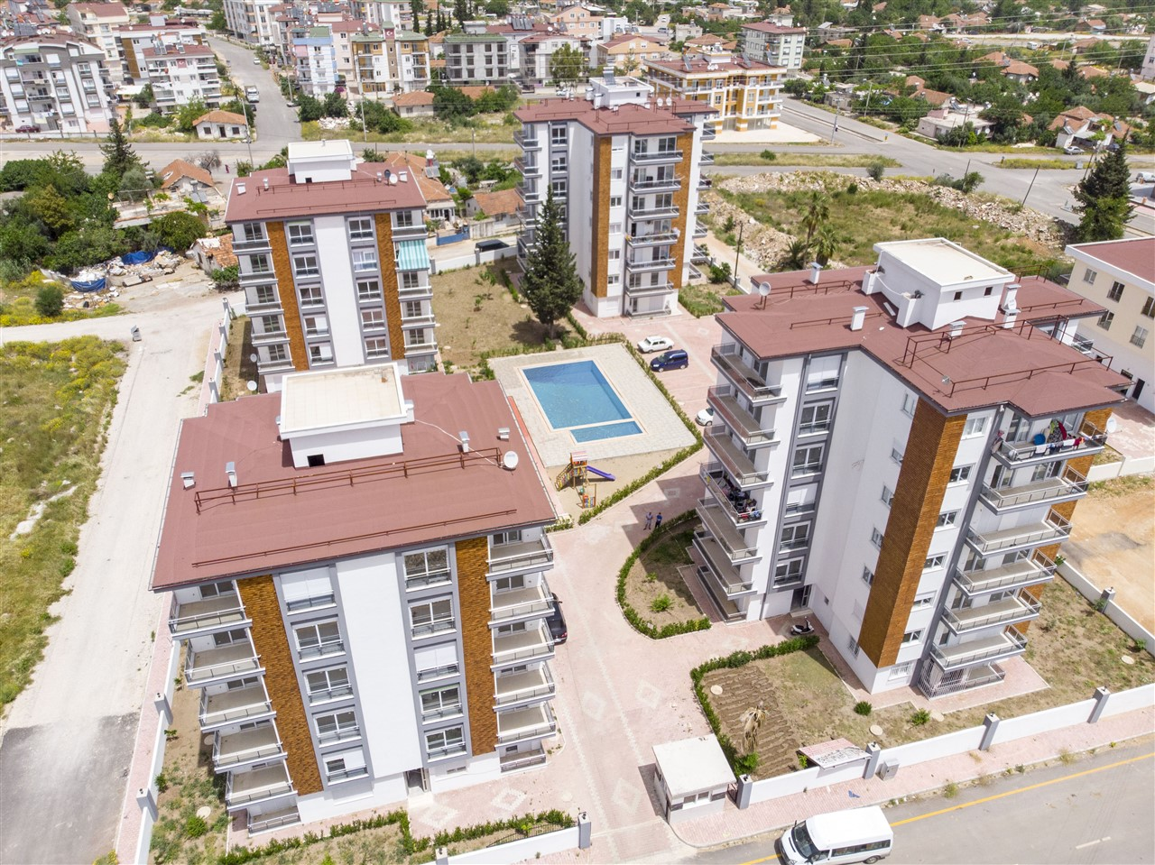 Готовые квартиры от застройщика в районе Кепез - Фото 1