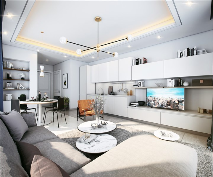 Новые квартиры в центре города Алания - Фото 24