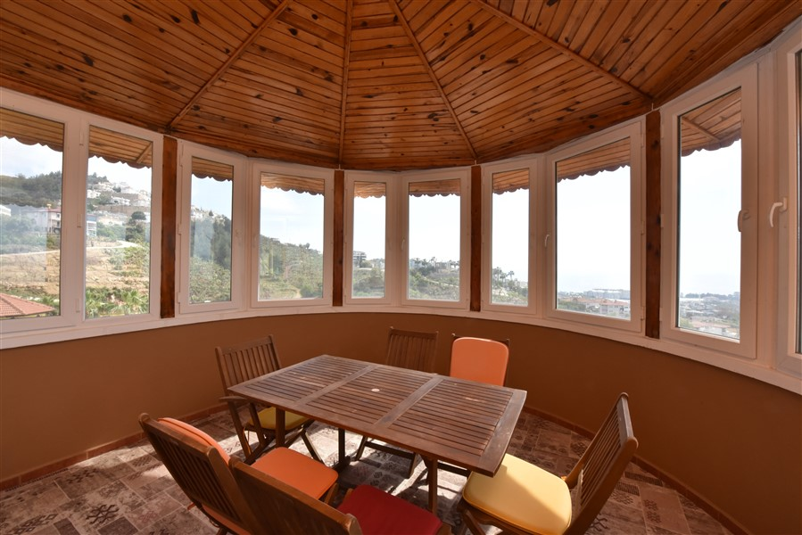 Меблированная вилла планировки 3+2 в районе Каргыджак - Фото 39