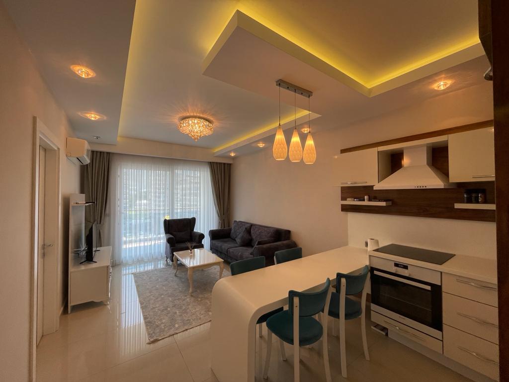 Меблированная квартира 1+1 в посёлке Авсаллар - Фото 9