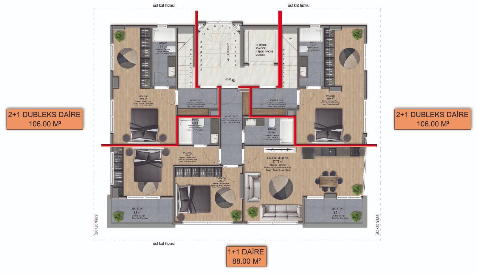Новые квартиры в центре Аланьи - Фото 11