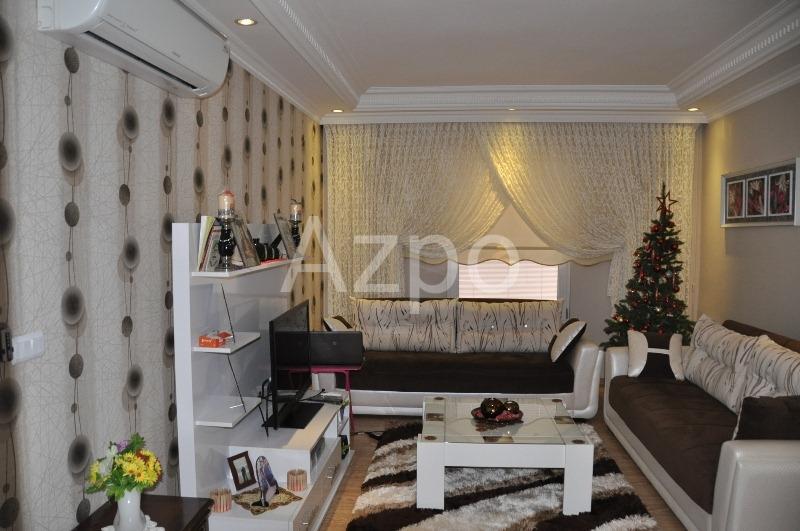 Трехкомнатная меблированная квартира в центре Аланьи - Фото 11