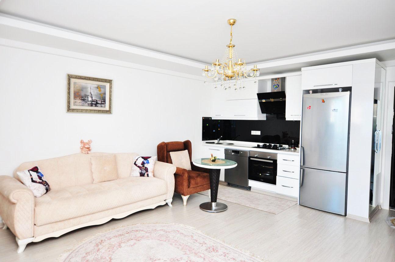 Двухкомнатная квартира с мебелью в Махмутларе - Фото 9