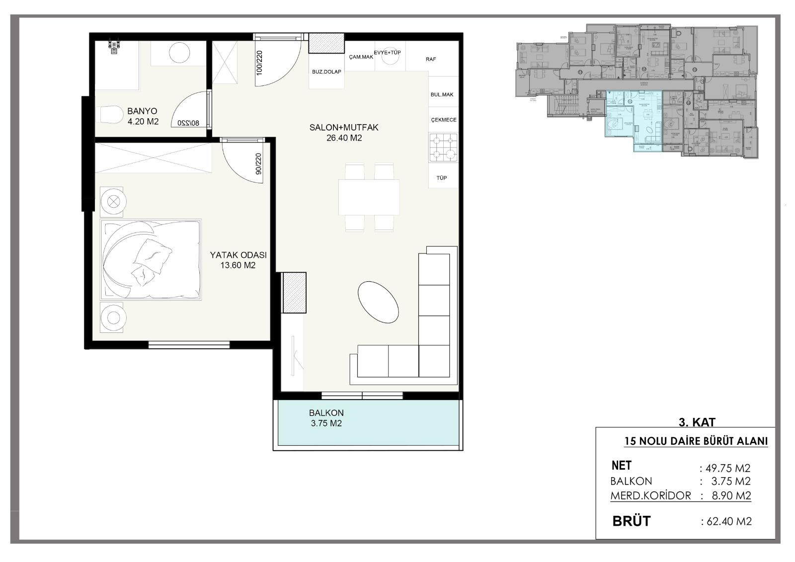 Новые квартиры в центральном районе Аланьи - Фото 8