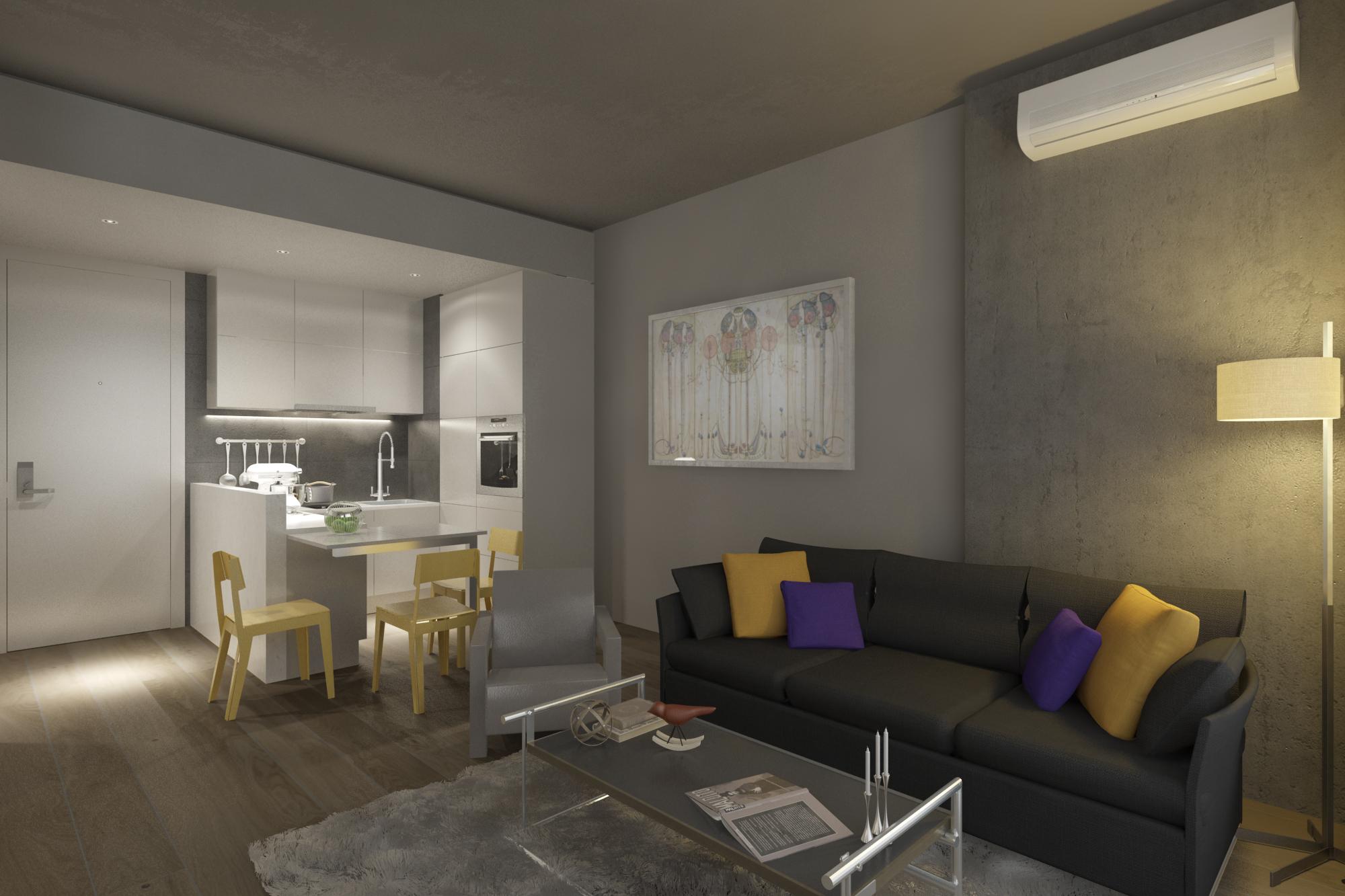 Трёхкомнатные квартиры в готовом проекте Стамбул - Фото 19