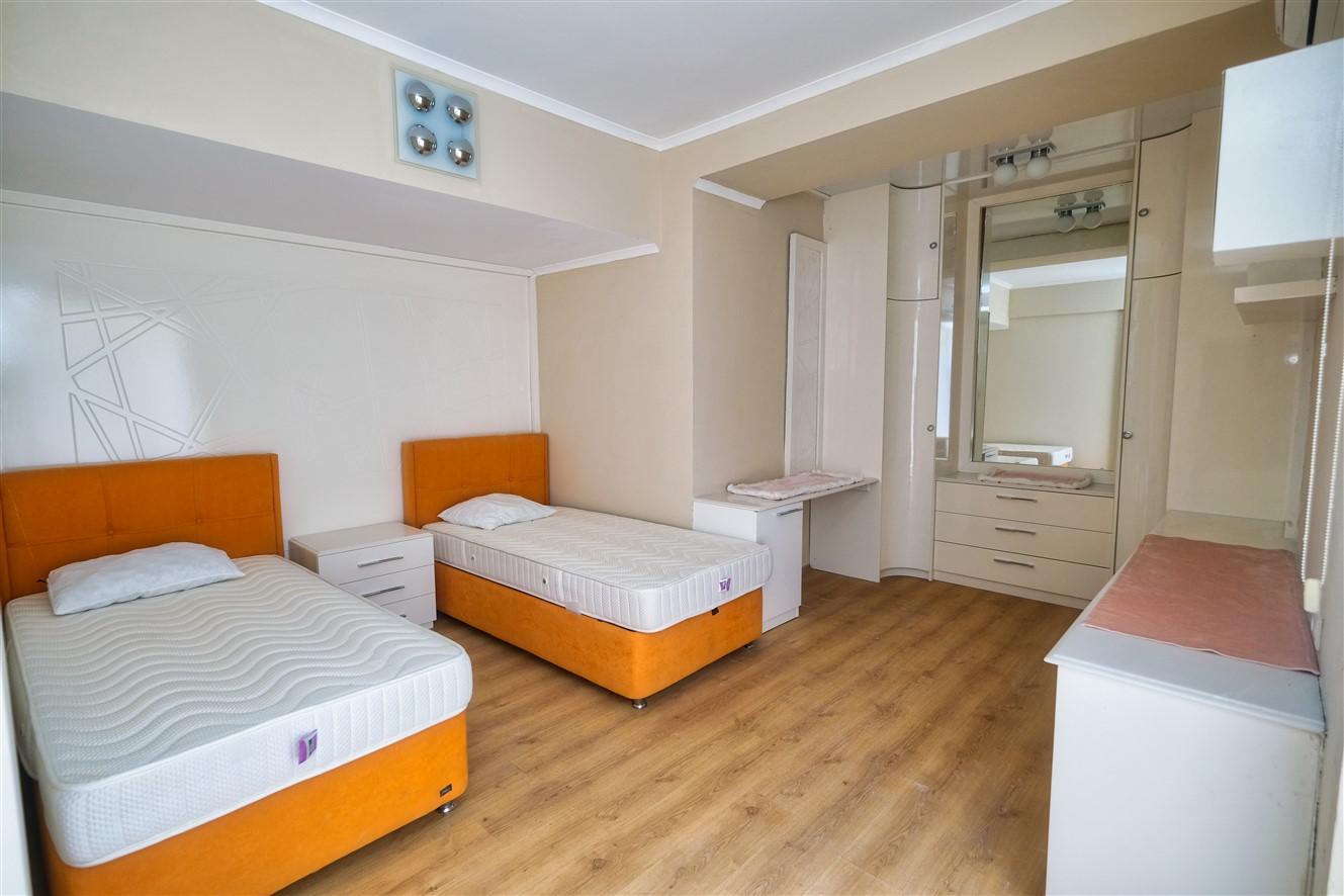 Двухуровневая квартира 3+1 с мебелью в Кемере - Фото 38
