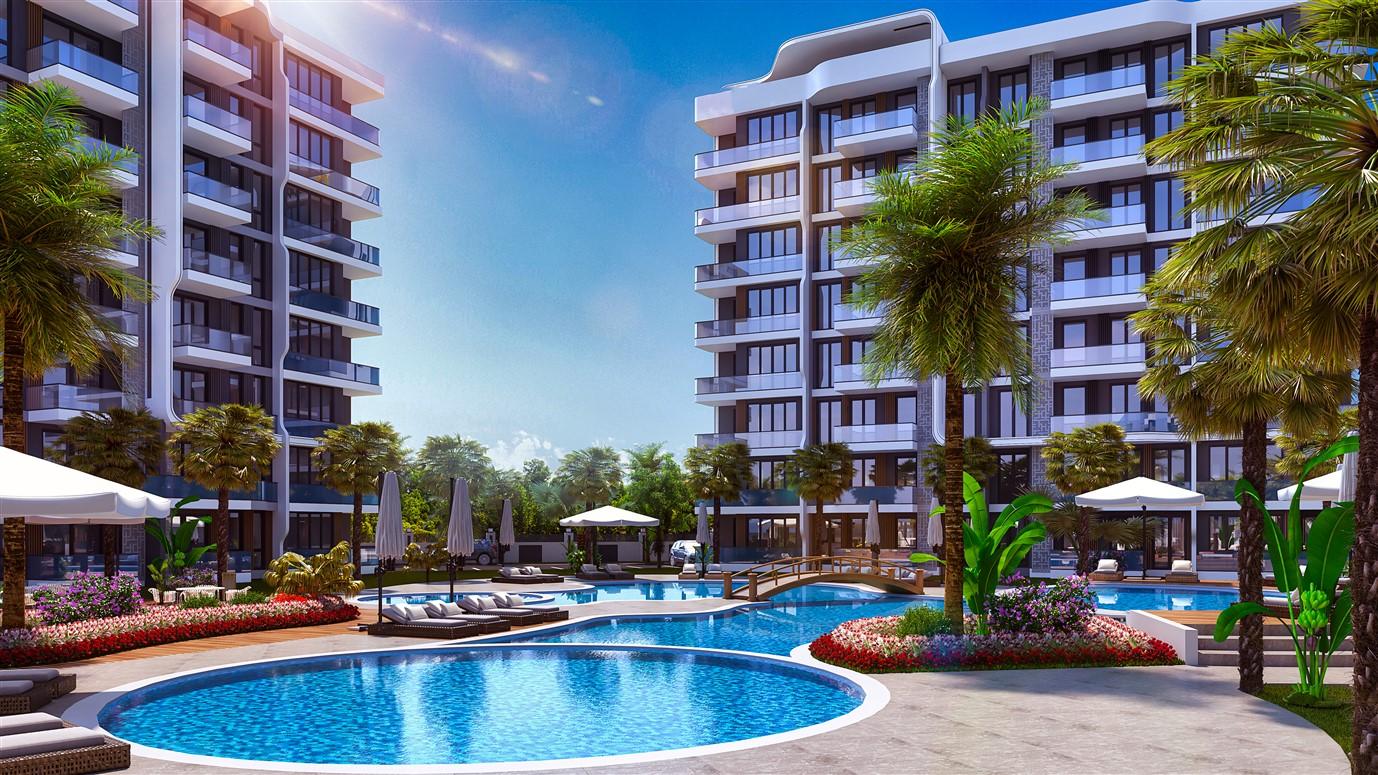Современные квартиры в элитном комплексе Антальи - Фото 6