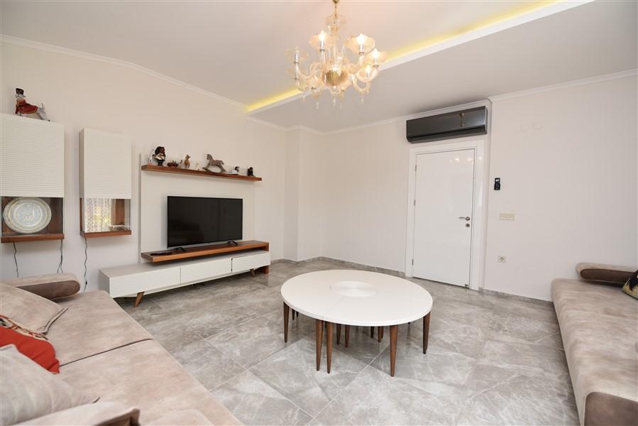 Просторный двухуровневый пентхаус 4+1 с мебелью в районе Джикджилли - Фото 28
