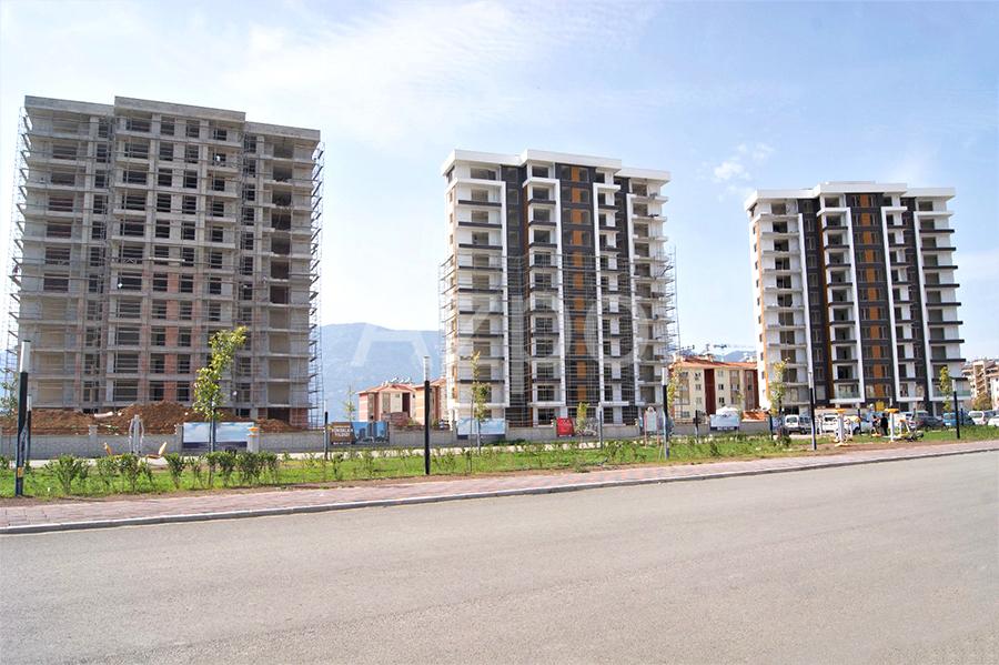 Квартиры 1+1 в комплексе в районе Дошемеалты Анталия - Фото 10