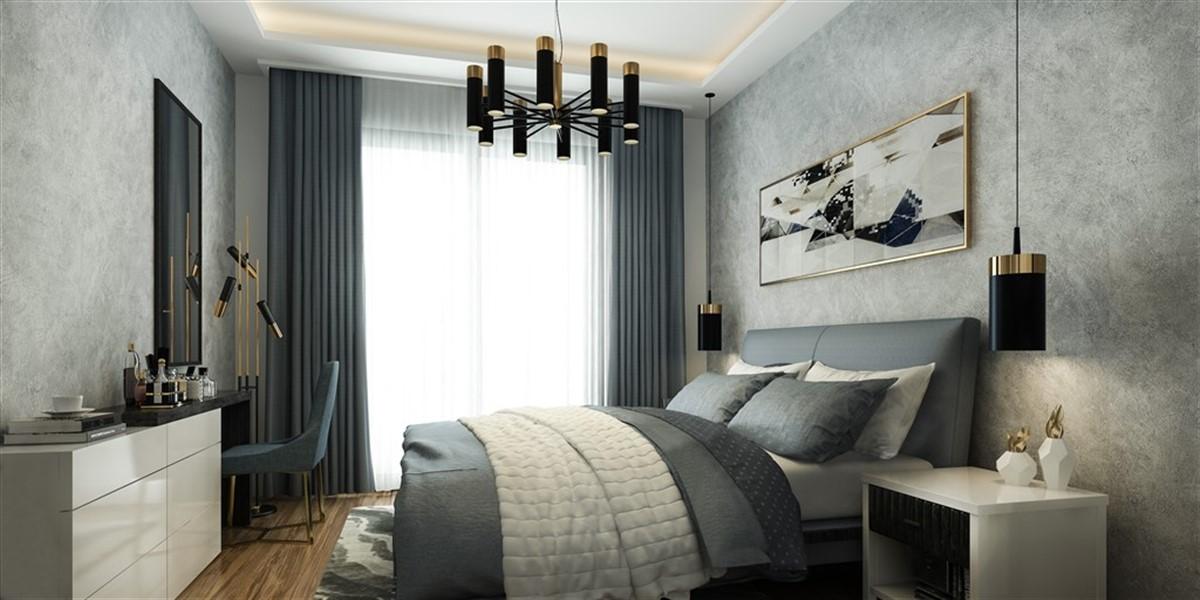 Двухкомнатная квартира в новом комплексе район Оба - Фото 10