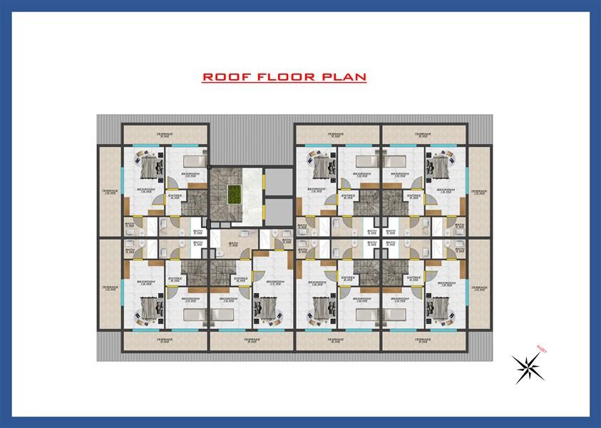 Новый проект жилого комплекса в районе Оба - Фото 39