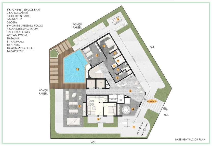 Проект жилого комплекса в центре Аланьи - Фото 40