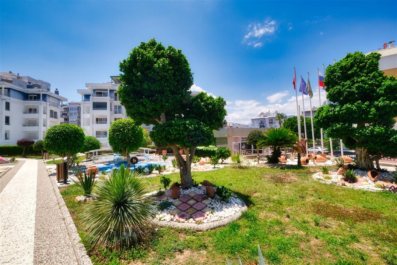 Двухкомнатная квартира с мебелью в элитном комплексе района Коньяалты - Фото 3