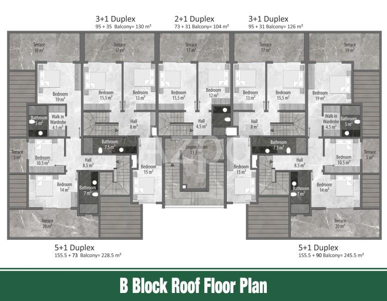 Квартиры и пентхаусы в новом комплексе Оба - Фото 21