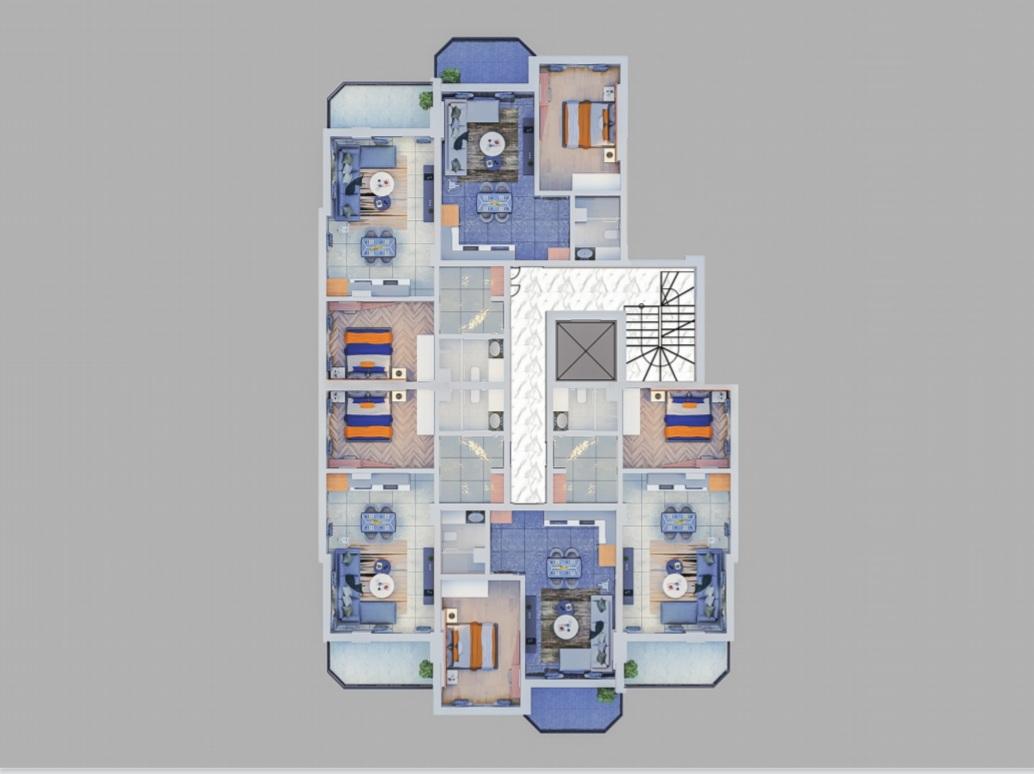 Квартиры в строящемся жилом комплексе - Фото 11