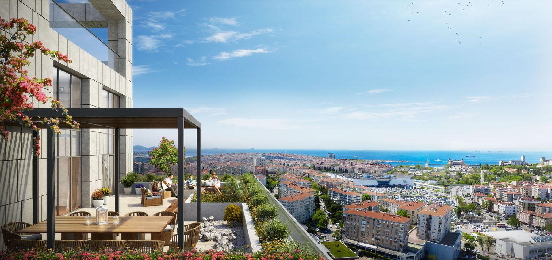 «Умные» квартиры в новом жилом комплексе Стамбула - Фото 26